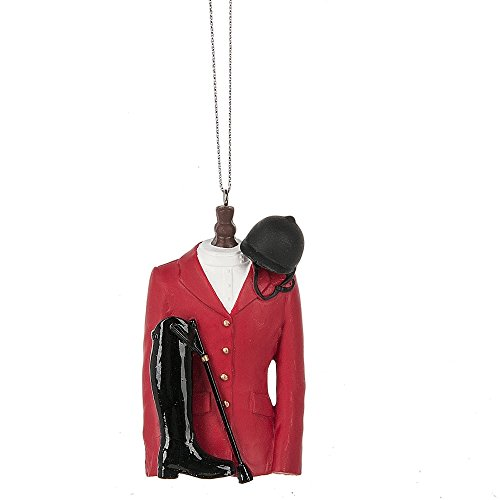 Midwest-CBK Red Equestrian Jacket Ornament