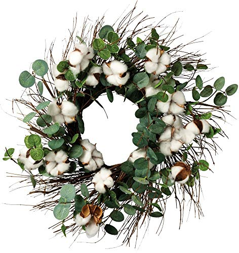 Primitives by Kathy Cotton and Eucalyptus Wreath