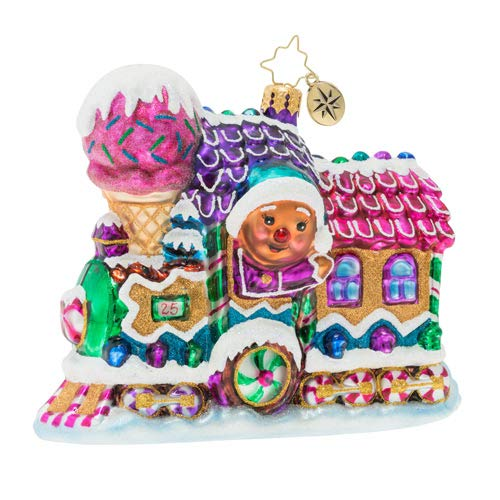 Christopher Radko Livin' La Vida Locomotive Christmas Ornament, Multi