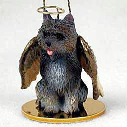 Cairn Terrier Angel Dog Ornament – Brindle