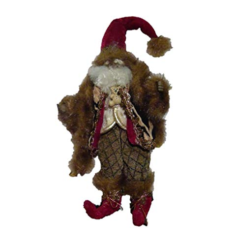 Mark Roberts African American Teddybear Fairy Ornament 9″