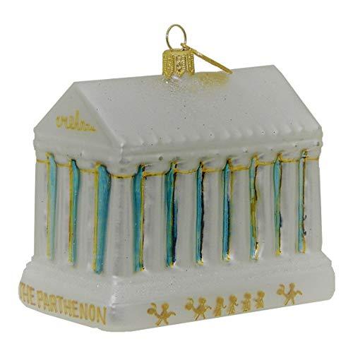 Landmark Creations' The Parthenon European Glass Christmas Ornament
