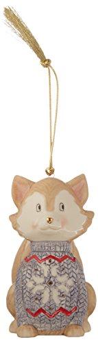 Lenox 870926 Christmas Sweater Ornament Fox