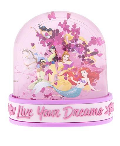 Disney Parks Princess Live Your Dreams Plastic Snowglobe
