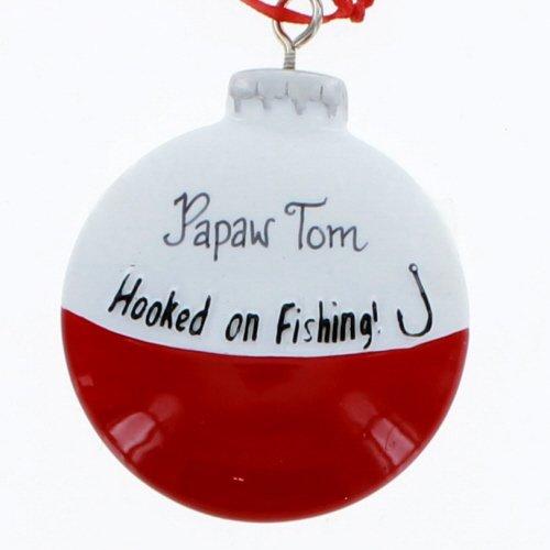 Kurt Adler Hooked on Fishing Bobber Christmas Ornament