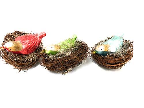 One Hundred 80 Degrees Bird Nest Clip Ornament