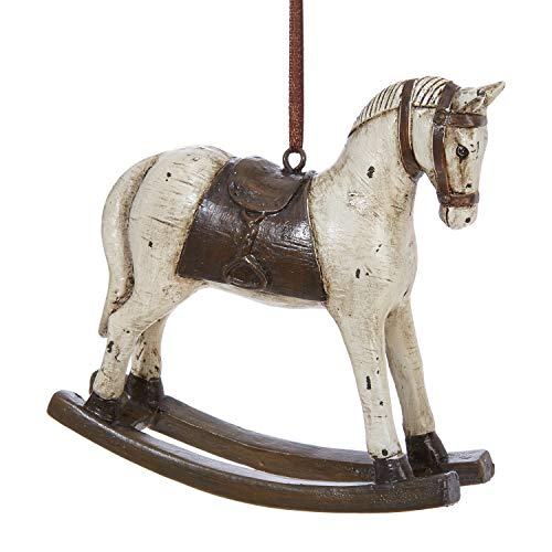 RAZ Imports 4.5″ Rocking Horse Ornament