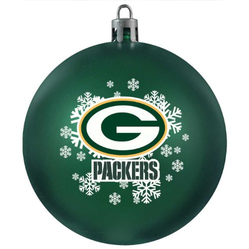 Topperscot Green Bay Packers Shatter-proof Ornament