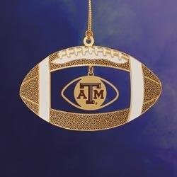 ChemArt Texas A&M Football Ornament