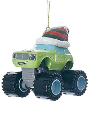Blaze & The Monster Machines Green Pickles Truck Holiday Christmas Tree Ornament
