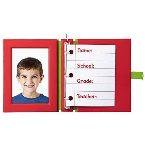 Hallmark Keepsake Christmas 2019 Year Dated School Days Notebook Photo Frame Ornament,