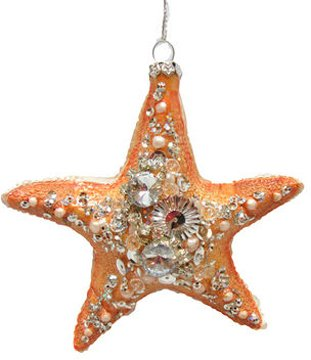 December Diamonds Ornament – Starfish with Stones