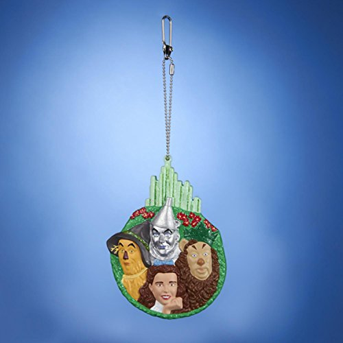 Kurt Adler 4″ Wizard of Oz Characters in Emerald City Keychain Christmas Ornament