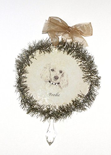 Rudolph & Me Dog Christmas Ornament – Poodle