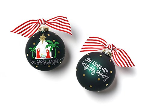 HAPPY EVERYTHING! Oh Holy Night Glass Ornament