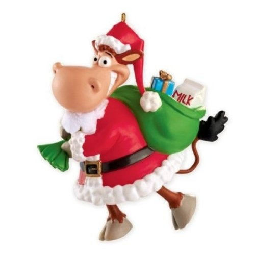 Carlton Heirloom Ornament 2013 Moo-ey Christmas – #CXOR030D