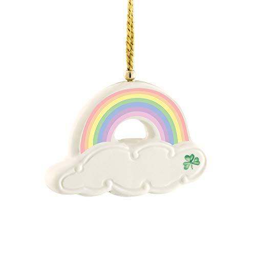 Belleek Rainbow Ornament