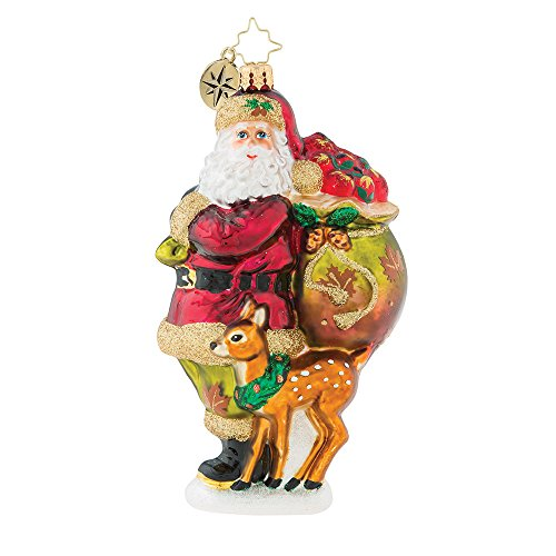 Christopher Radko Falling Into The Holidays Christmas Ornament