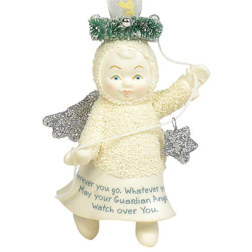 Department 56 Snowbabies Guardian Peace Hanging Ornaments, 3.1125″, Multicolor