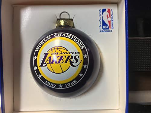 Los Angeles Lakers 1987-1988 NBA World Champions Christmas Ornament