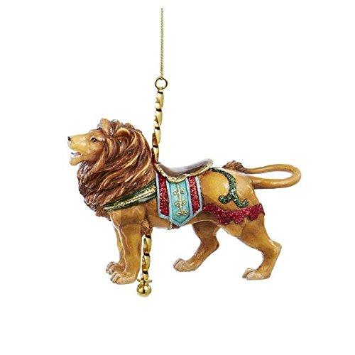 Lion Carousel Ornament