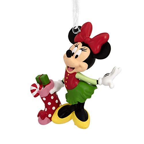 Hallmark Christmas Ornaments, Disney Minnie Mouse With Stocking Ornament