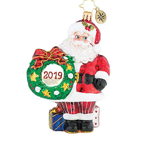 Christopher Radko 2019 Making The Rounds Dated Christmas Ornament