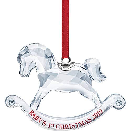 SWAROVSKI Baby's 1St Christmas, A.E. 2019 Ornament, Crystal