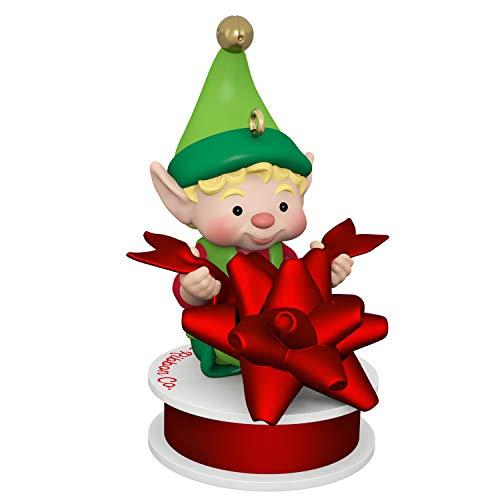 Hallmark Keepsake Christmas Ornament 2019 Year Dated North Pole Tree Trimmers Elf,