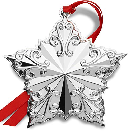 Towle 2019 Star Ornament-23rd Edition Holiday Ornament, Metal
