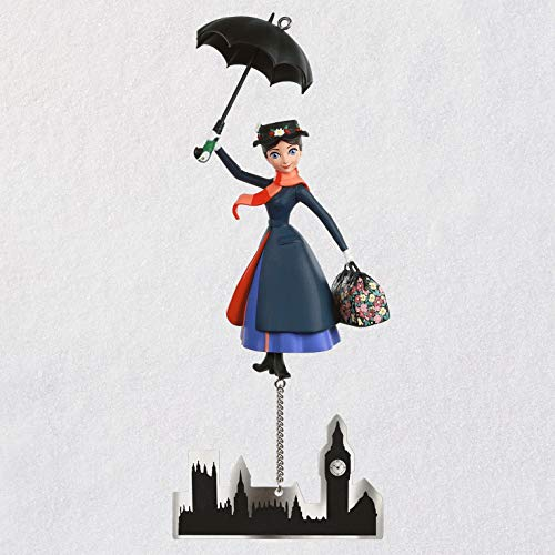 Hallmark Keepsake Christmas Ornament 2019 Year Dated Disney Mary Poppins The Perfect Nanny, The