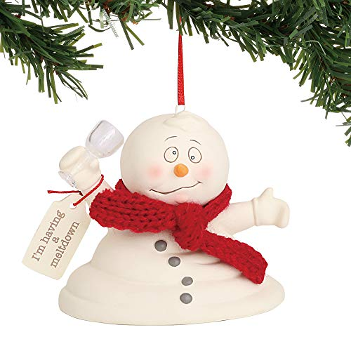 Department 56 Snowpinions I'm Having A Meltdown Hanging Ornament, 3″, Multicolor