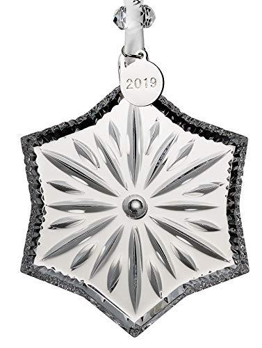 Waterford Crystal Snowcrystal Ornament 3.7″