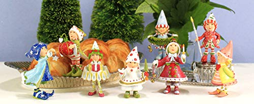 Krinkles Patience Brewster Dash Away Mini Elves Set of 8 Ornament