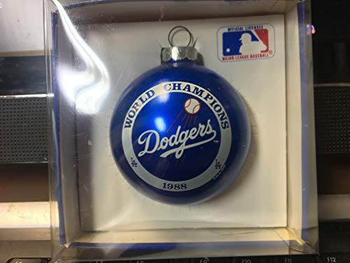 Los Angeles Dodgers 1988 MLB World Champions Christmas Ornament