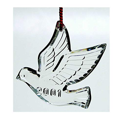 Waterford 2001 Memories Ornament Collection – Dove 10th Edition