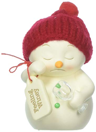 Department 56 Snowpinions Feeling Winey, 3.25″ Hanging Ornament, Multicolor
