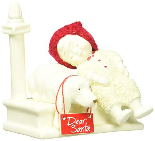 "Department 56 Snowbabies ""Waiting for Santa"" Porcelain Figurine, 4.25″"