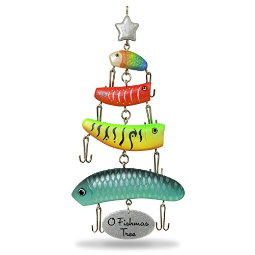 Hallmark Keepsake Christmas Ornament 2018 Year Dated, O Fishmas Tree