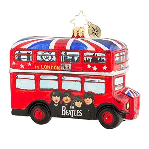 Christopher Radko The British Invasion Christmas Ornament