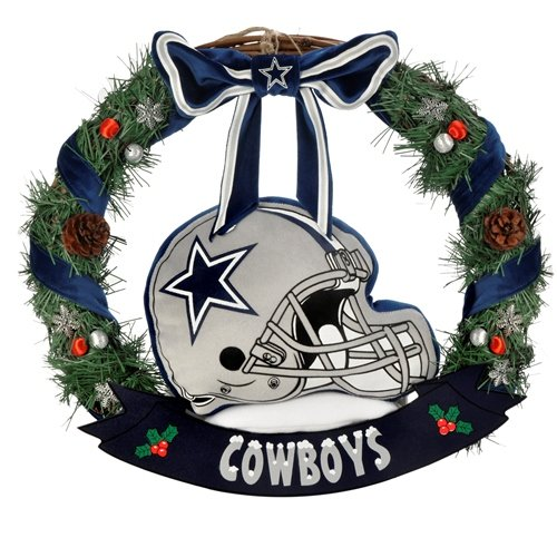 Dallas Cowboys 20″ Helmet Door Wreath