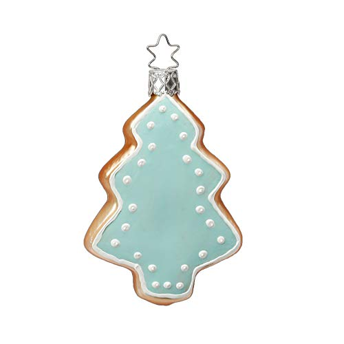 Inge-Glas Cookie Frosted Iced Tree 10101S018 German Glass Christmas Ornament