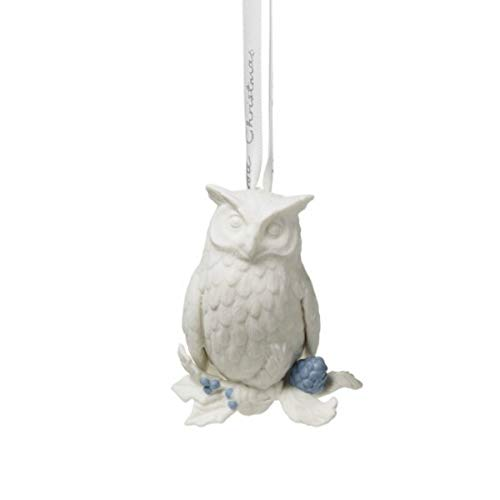 Wedgwood 2019 Holiday Ornaments – Figural Owl