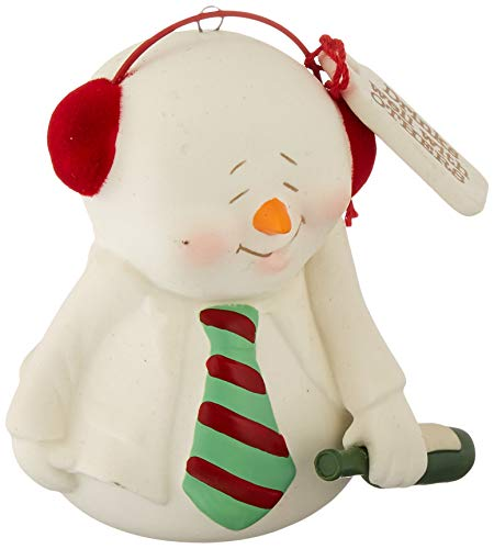 Department 56 Snowpinions Drinks Well with Others Hanging Ornament, 3″, Multicolor