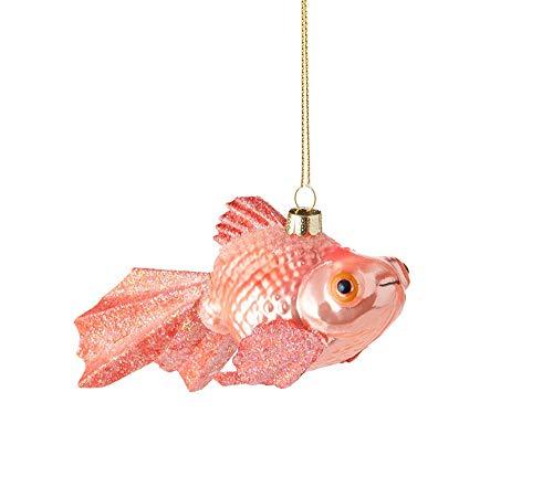 RAZ Imports Raz 4″ Goldfish Glass Christmas Ornament 3853016