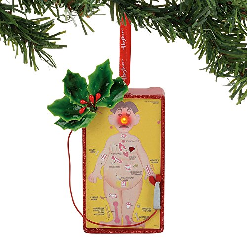 Department 56 Hasbro Operation Game Board Hanging Ornament