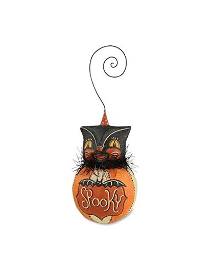 Happy Halloween Ball Ornament – Cat