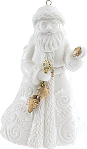 Carlton Heirloom Ornament 2016 Santa Claus – Porcelain – #CXOR018K
