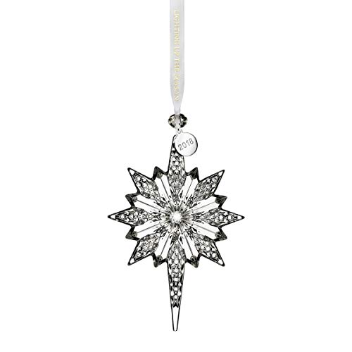 Waterford Crystal 2018 Snowstar 5.3″ Ornament
