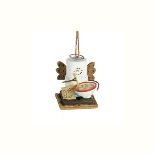 Midwest CBK S'mores Cooking Angel Ornament (3 Asstd)